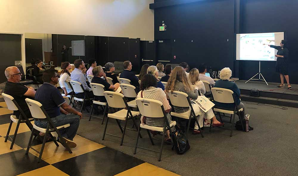 Community meeting on June 20